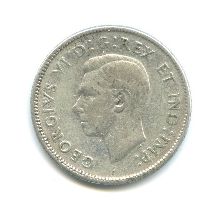 25 центов (квотер) 1946 года (Канада)