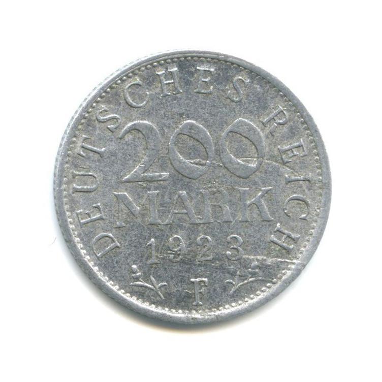 200 марок 1923 года F (Германия)