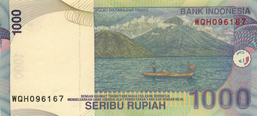 1000 рупий 2009 года (Индонезия)