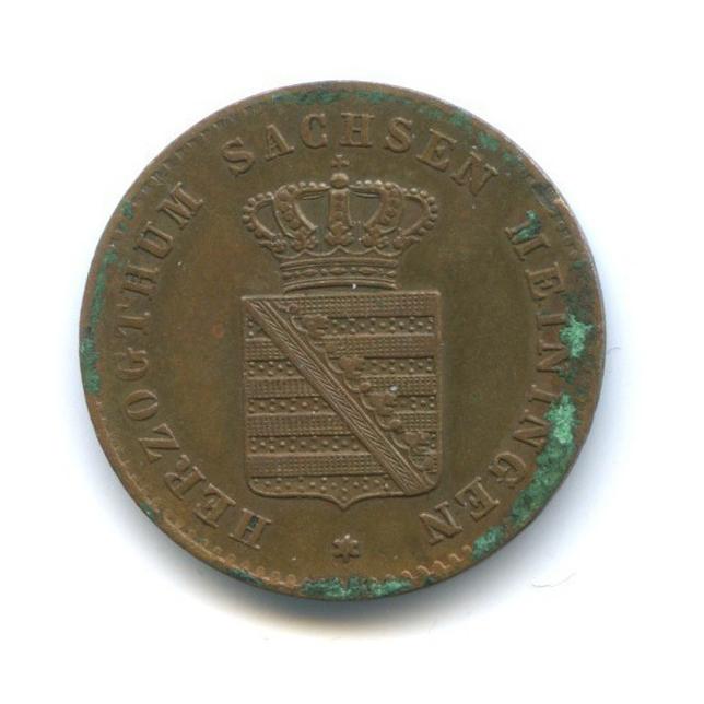 2 пфеннига, Саксен-Мейнинген 1869 года