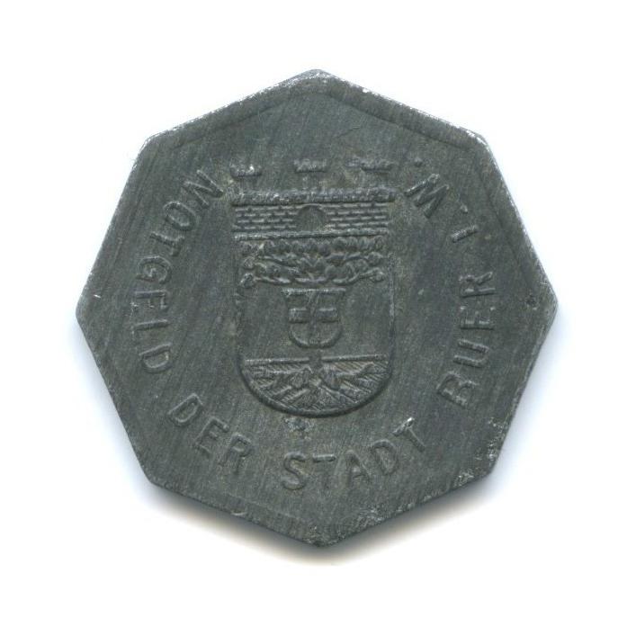 25 пфеннигов, город Бюр вВестфалии (нотгельд) 1918 года (Германия)