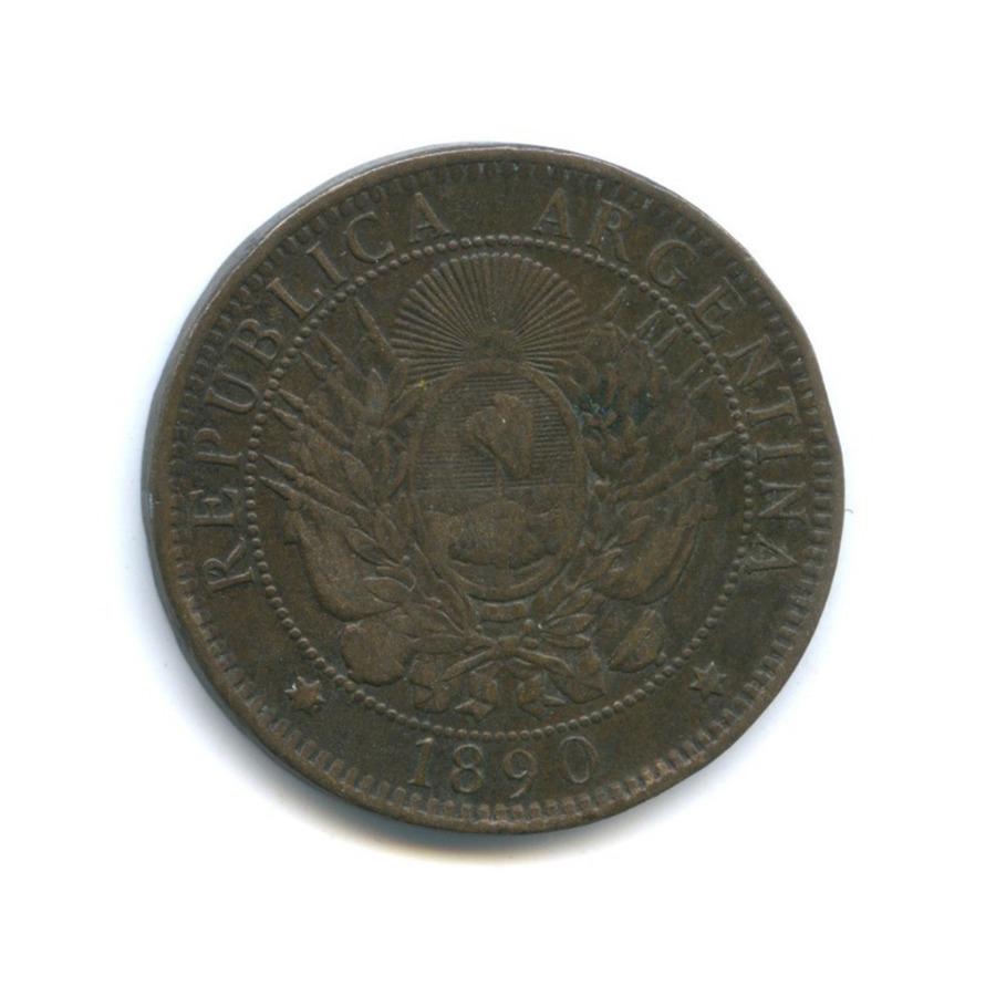 2 сентаво 1890 года (Аргентина)