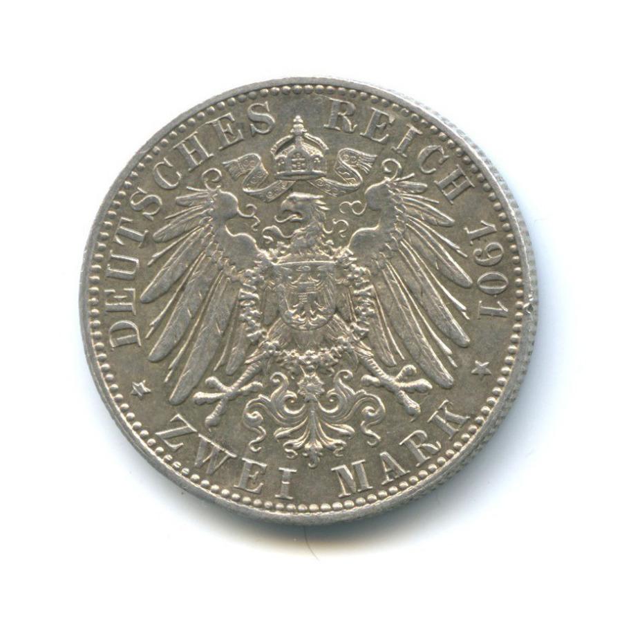 2 марки - 200-летие королевства, Пруссия 1901 года