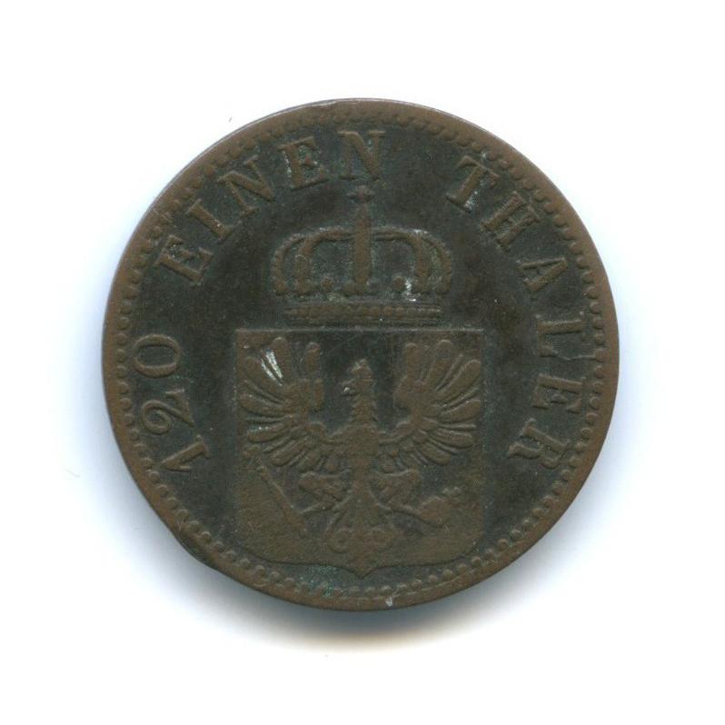 3 пфеннинга, Пруссия 1866 года А