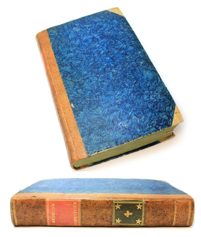 Книга «Отечественная медицина», том 4, Париж, 595 стр 1789 года (Франция)