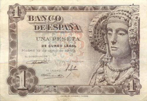 1 песета 1948 года (Испания)