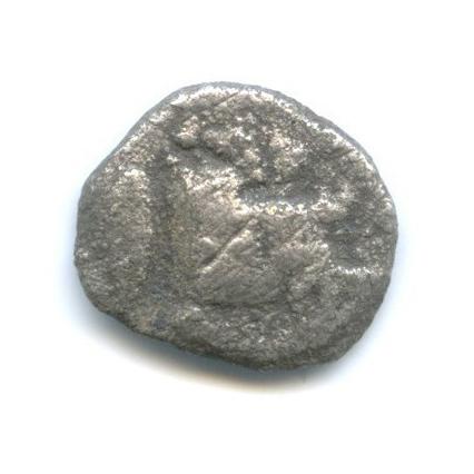 Обол - Мизия, Кизик, 480-400 гг. до н. э., лев/кабан