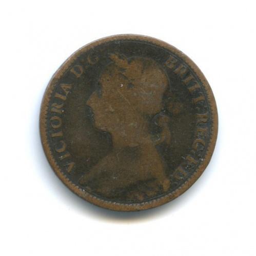 1 фартинг - Королева Виктория 1892 года (Великобритания)