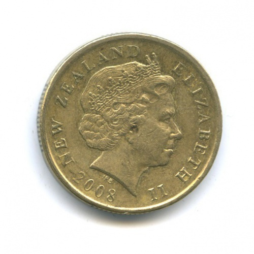 1 доллар 2008 года (Новая Зеландия)