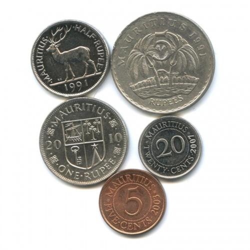 Набор монет (Маврикий)