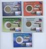 Набор монет России (вблистере) 1992, 1993 ЛМД, ММД (Россия)