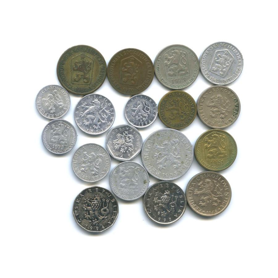 Набор монет (Чехия, Чехословакия)