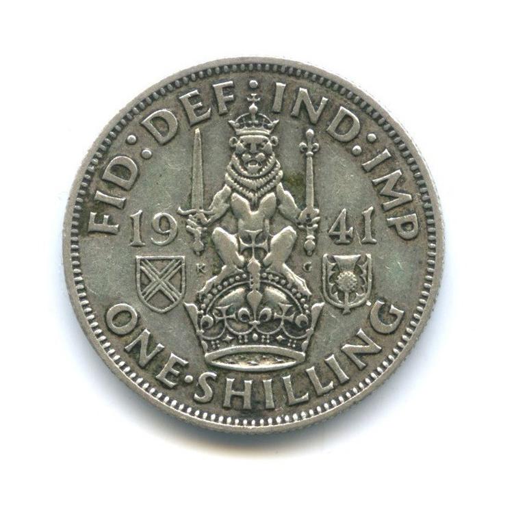 1 шиллинг 1941 года Sc (Великобритания)