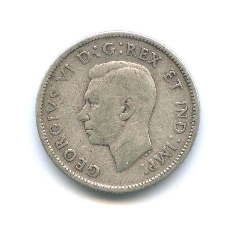 25 центов (квотер) 1940 года (Канада)