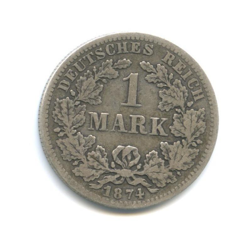 1 марка 1874 года F (Германия)