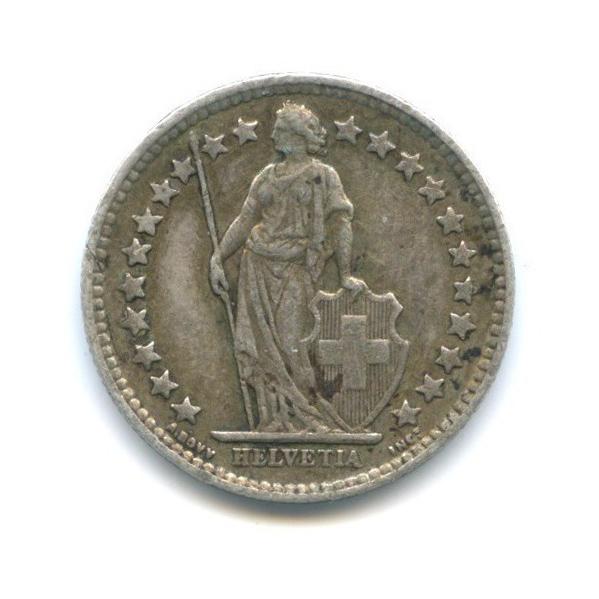 ½ франка 1929 года (Швейцария)