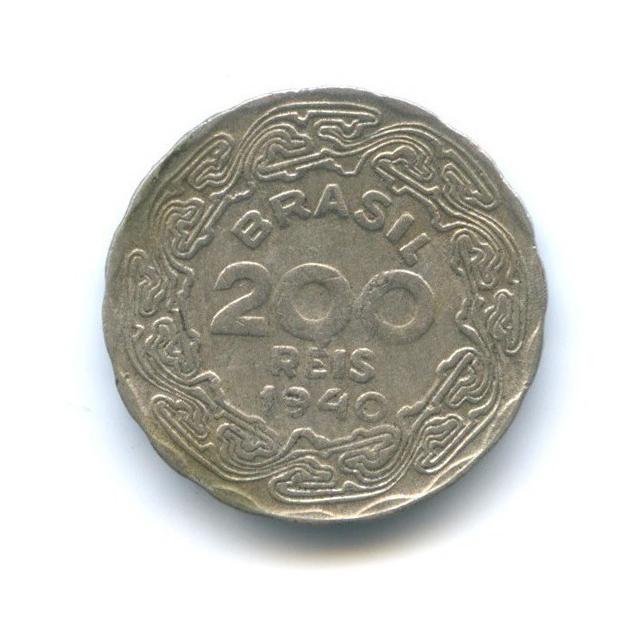 200 рейс 1940 года (Бразилия)