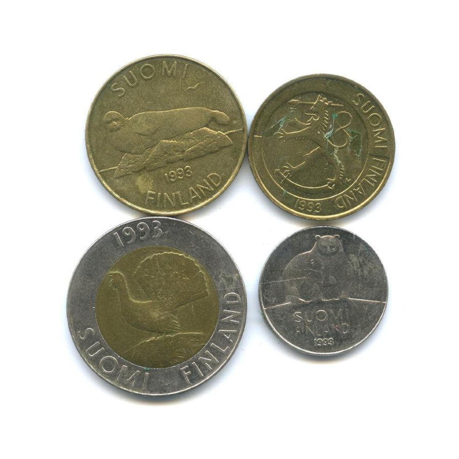 Набор монет 1993 года (Финляндия)
