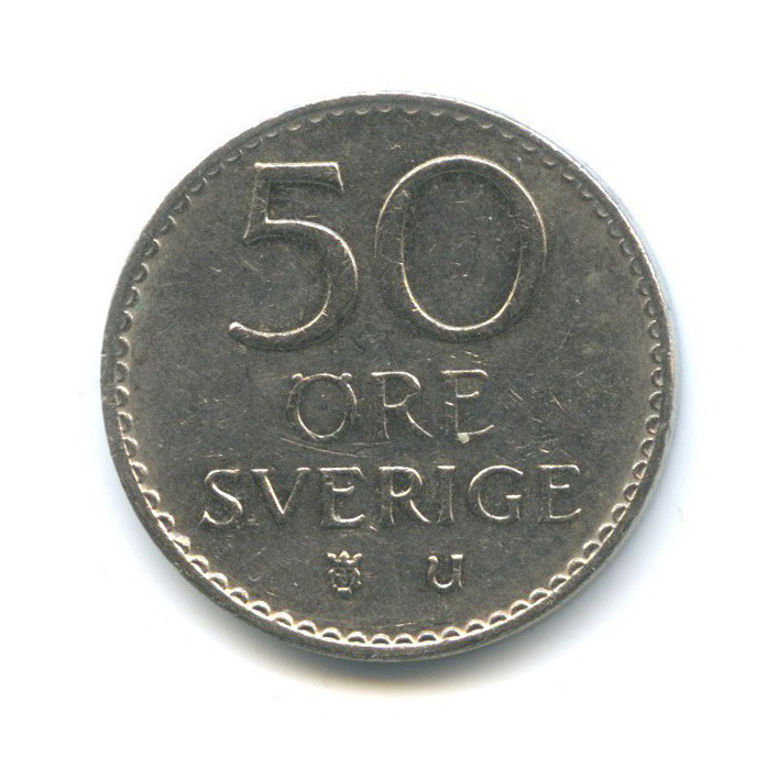 50 эре 1973 года (Швеция)
