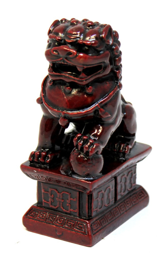 Статуэтка «Собака Фу (китайский лев)» (тяжелый, 11 см)