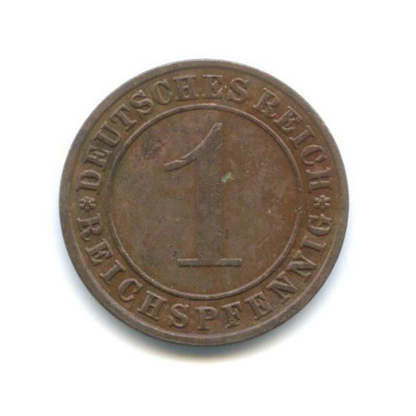 1 рейхспфенниг 1931 года F (Германия)