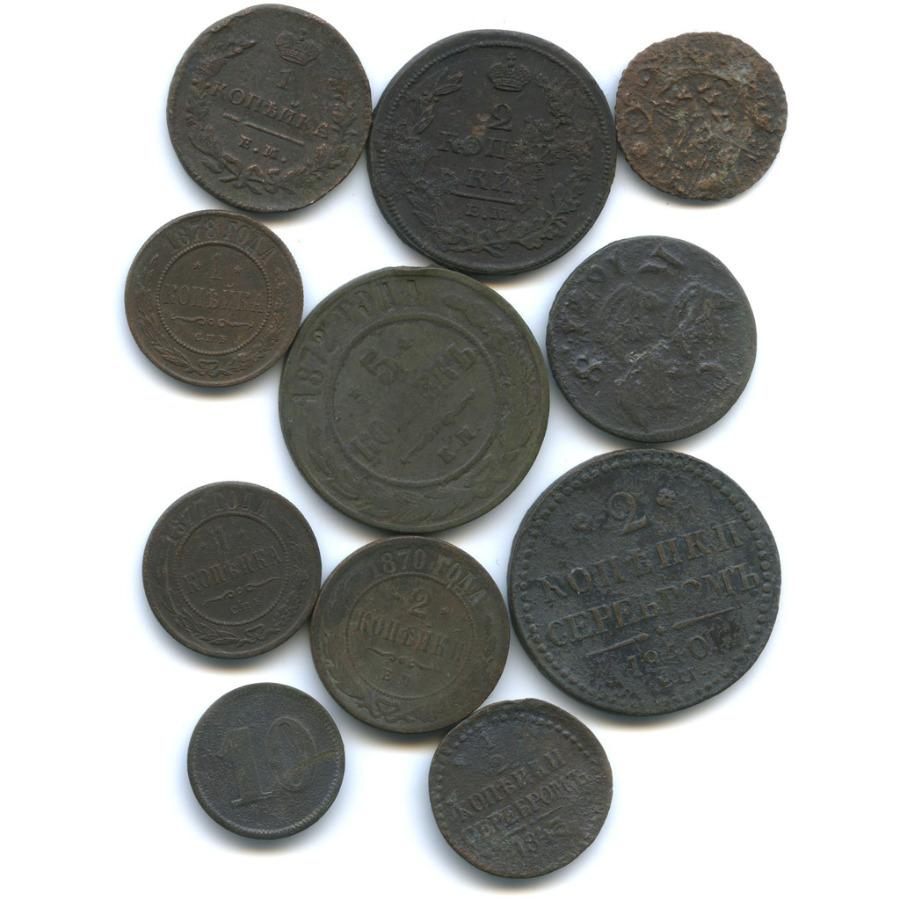 Набор монет (Российская Империя, Швеция, Германия)