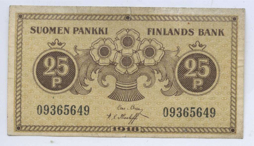 25 пенни 1918 года (Финляндия)