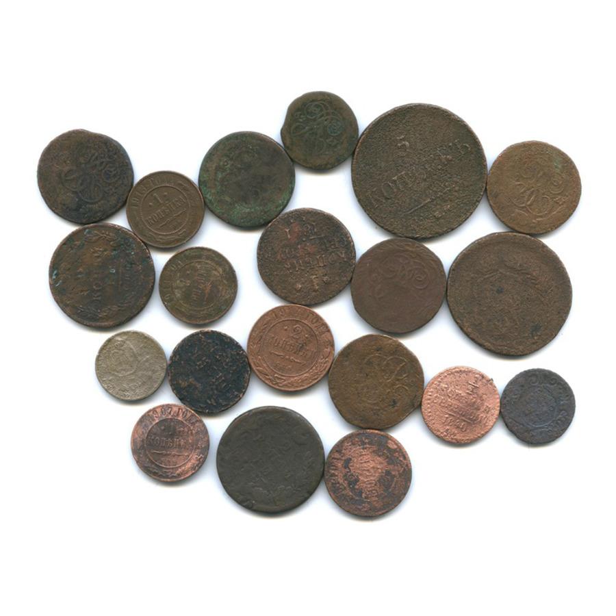 Набор монет (Российская Империя, СССР), 20 шт