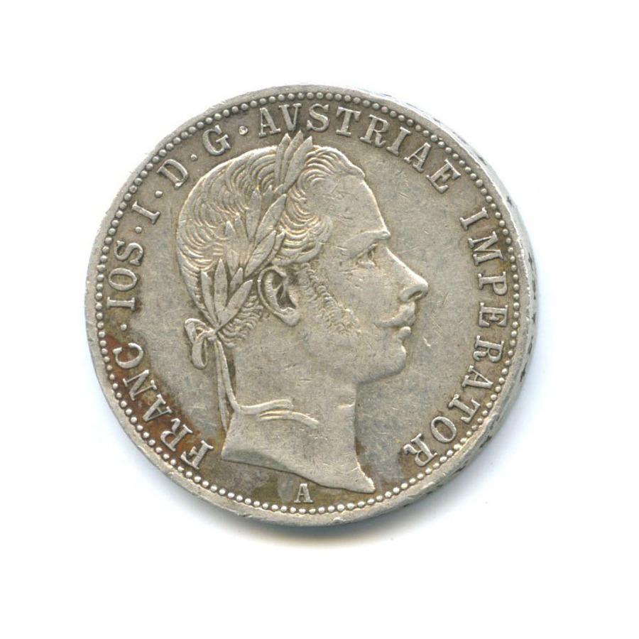 1 флорин - Франц Иосиф I 1863 года (Австрия)