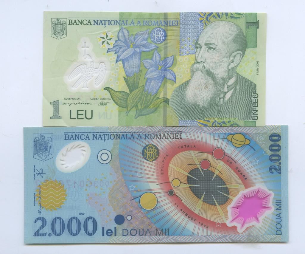 Набор банкнот 1999, 2005 (Румыния)