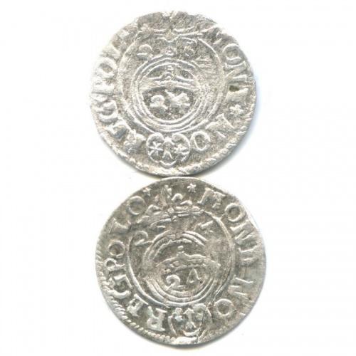 Набор монет полторак - Сигизмунд III, Речь Посполитая (стрещиной) 1624, 1625