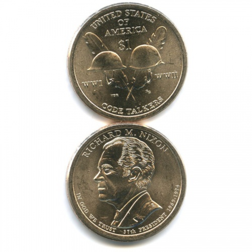 Набор юбилейных монет 1 доллар 2016 года Р (США)