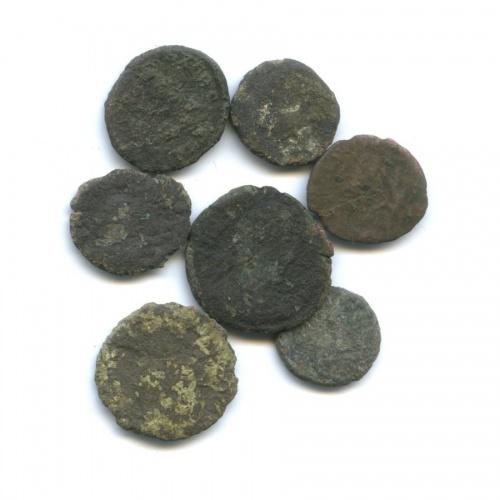 Набор монет, Древний Рим (IV в.)