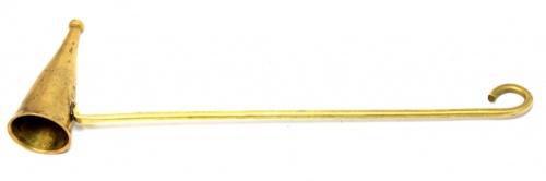 Гасило для свечей (латунь, 25 см)
