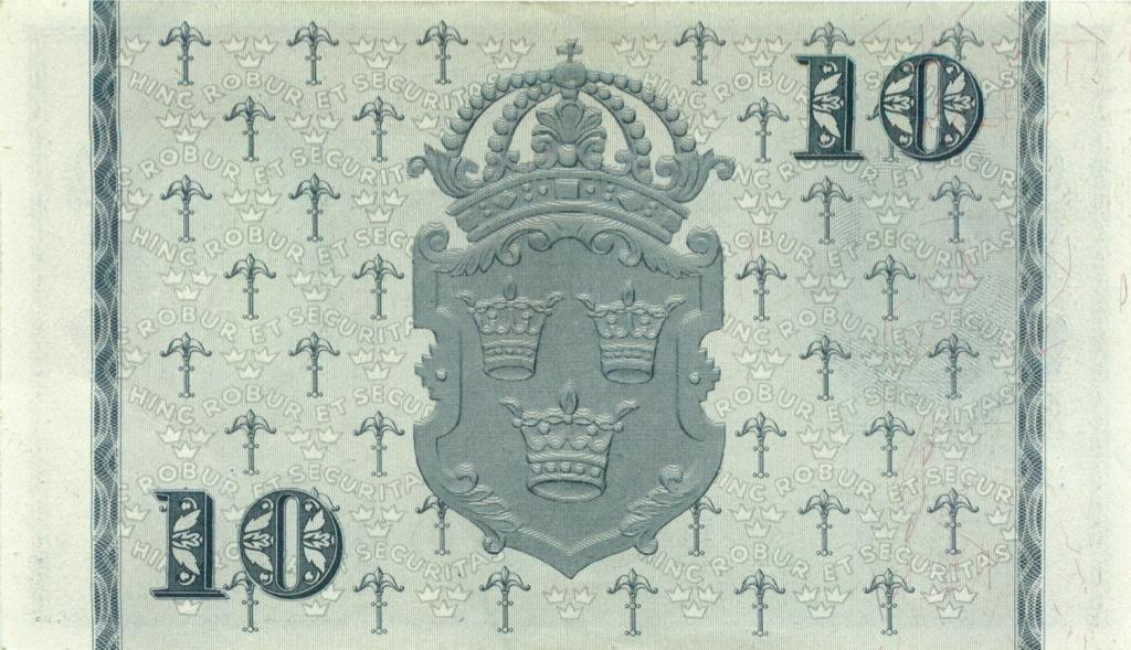 10 крон 1953 года (Швеция)