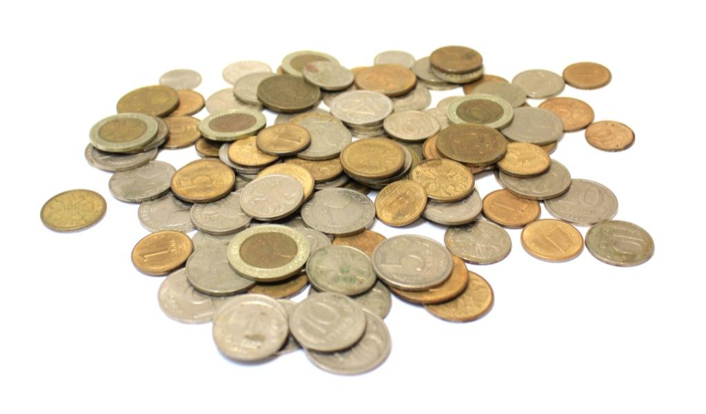 Набор монет (СССР, Россия, 100 шт.) 1992-1993