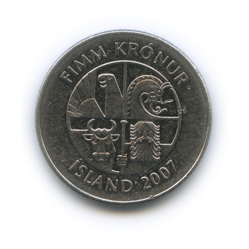 5 крон 2007 года (Исландия)