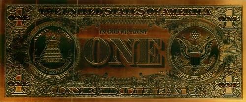 1 доллар - США (сувенирная)