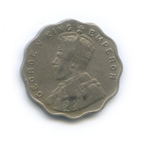 1 анна, Британская Индия 1913 года