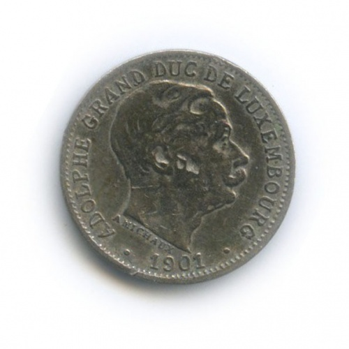 5 сантимов - Адольф 1901 года (Люксембург)