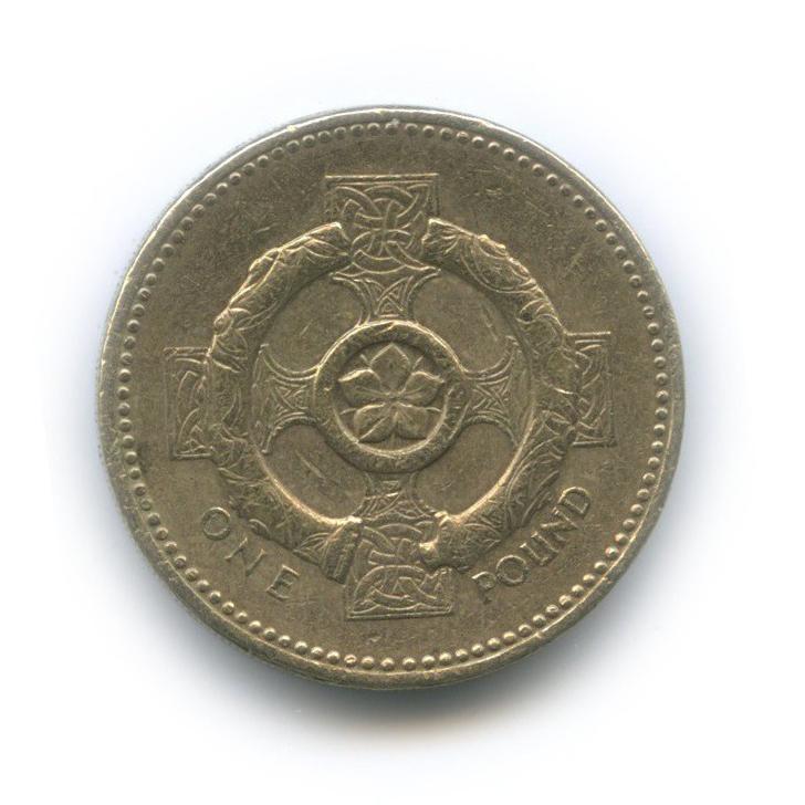 1 фунт - Кельтский крест 2001 года (Великобритания)