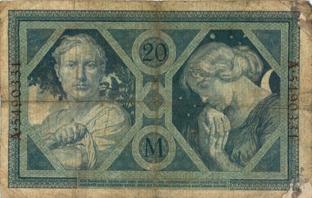 20 марок 1915 года (Германия)