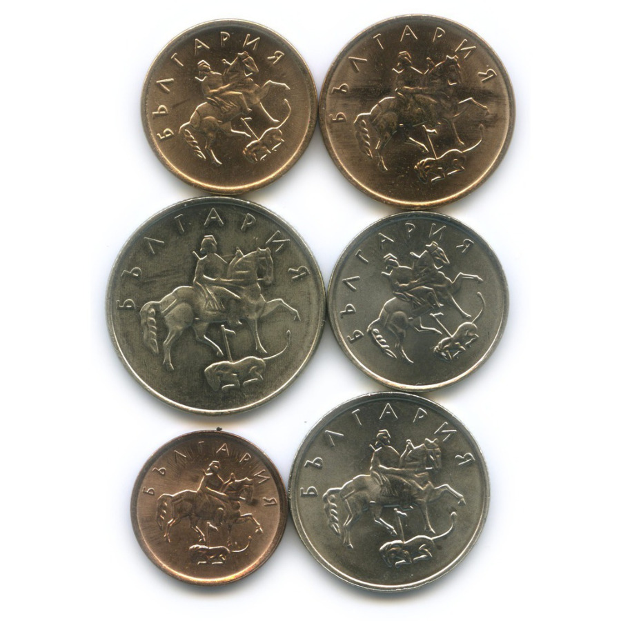 Набор монет 1999, 2000 (Болгария)