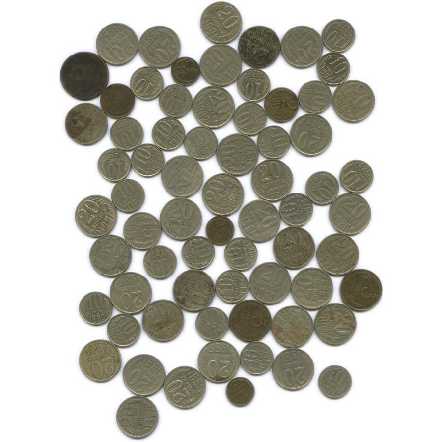 Набор монет СССР, 68 шт 1961-1991 (СССР)