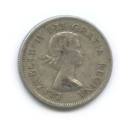 25 центов (квотер) 1963 года (Канада)