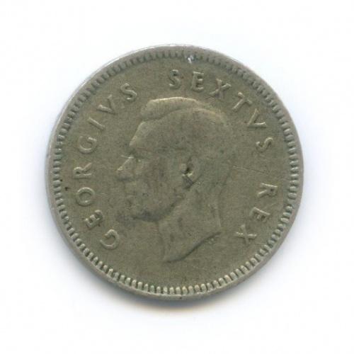 3 пенса 1951 года (ЮАР)