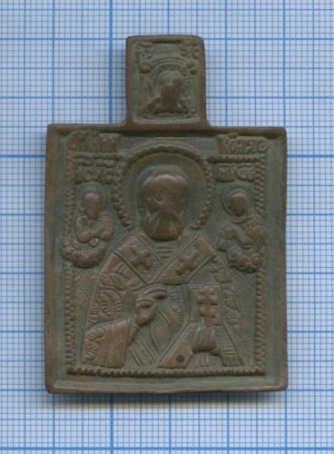 Иконка нательная «Святой Николай Чудотворец»