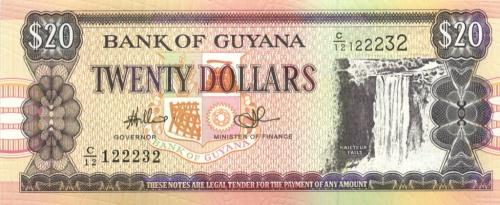 20 долларов (Гайана)