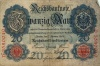 20 марок 1908 года (Германия)