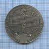 Медаль настольная «70 лет ВЧК КГБ» (копия) 1987 года (СССР)